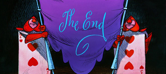 Alice au pays des merveilles-The End-Conte de fees-Disney_Gauloise de Nuits