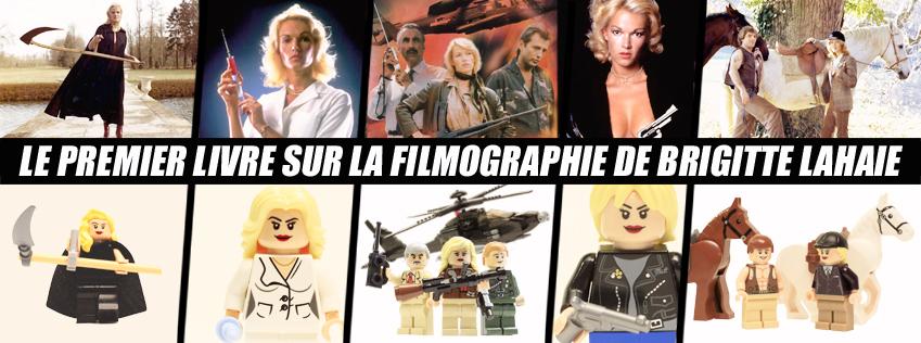Brigitte Lahaie les films de culte LEGO - movies _ Gauloise de Nuits